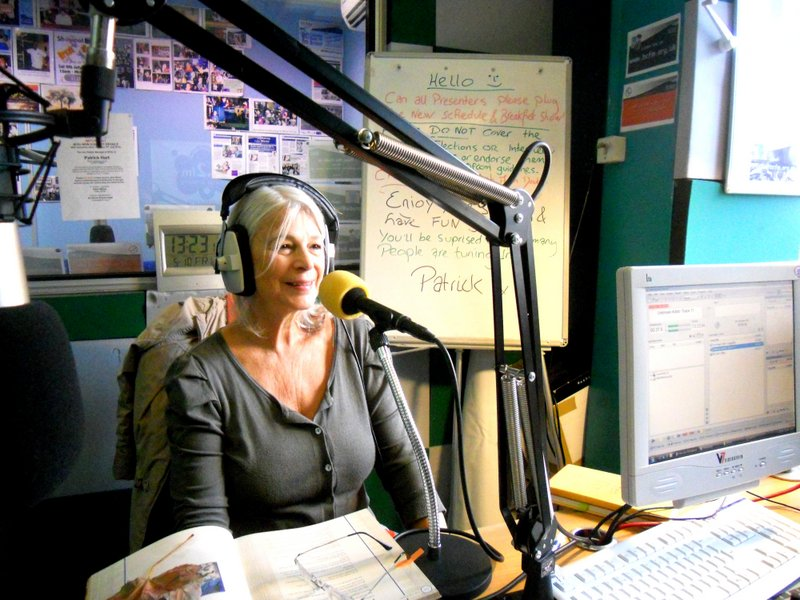Maneesha on Bristol radio show