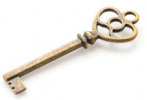 A golden key