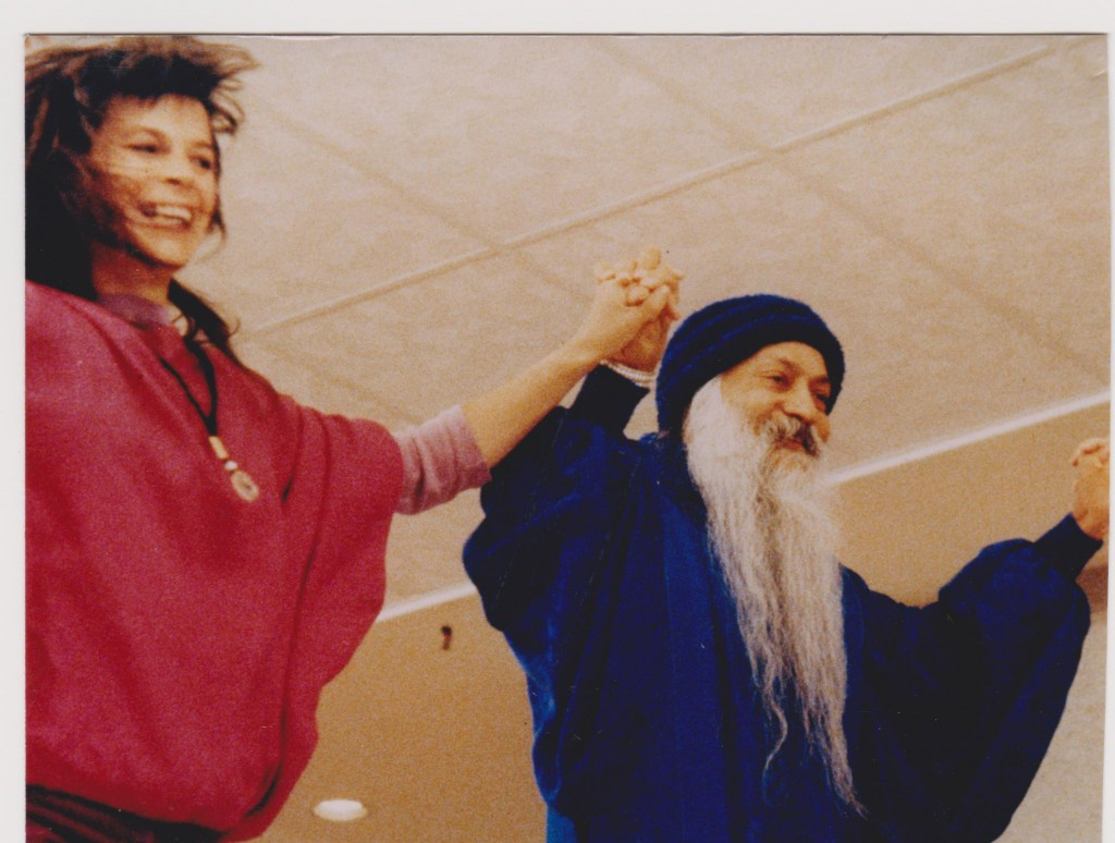 Maneesha dancing with Osho