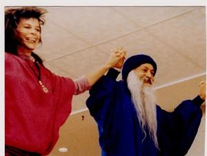 Maneesha dancing with Osho