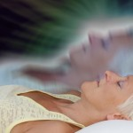 Woman and astral body - bardo workshop