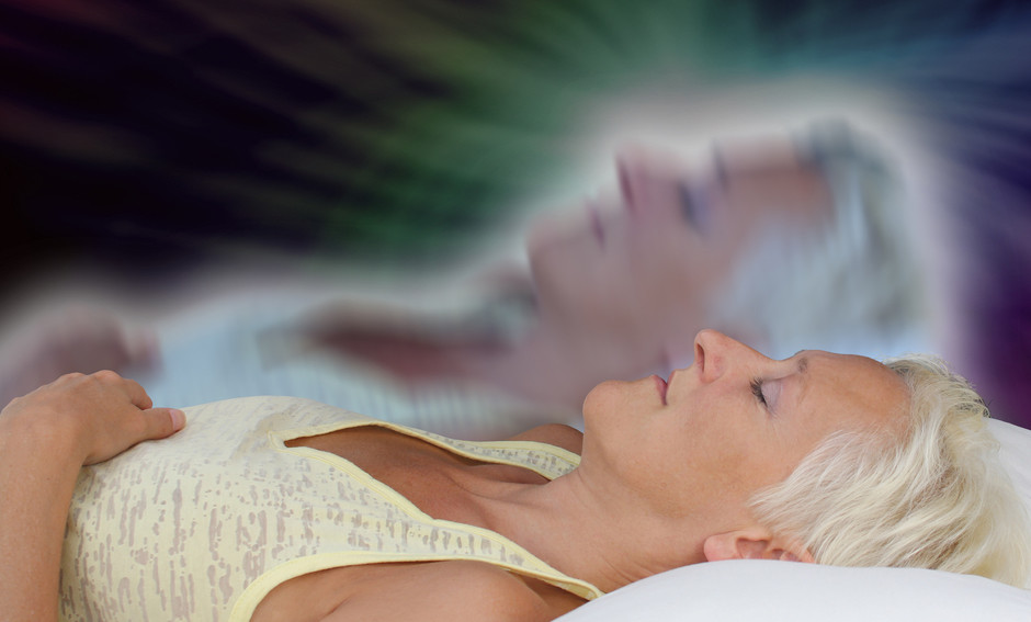 Woman and astral body