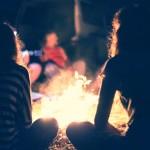 Celebration of life - around campfire
