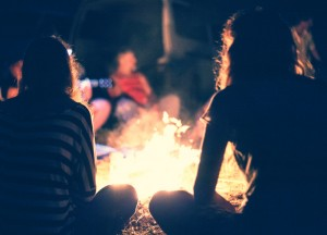 Celebrating the life of a loved one -e.g. around campfire