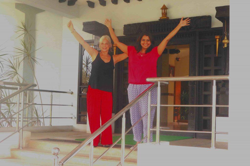 Maneesha and Nandita - We made it!
