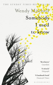Wendy mitchell somebody i used to know book